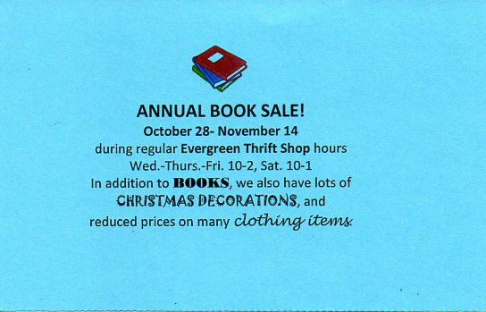 First Central Annual Book Sale001
